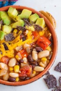 Easy Southwestern Soup
