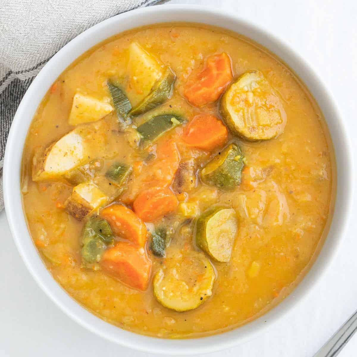 Healthy & Easy Leek and Potato Soup