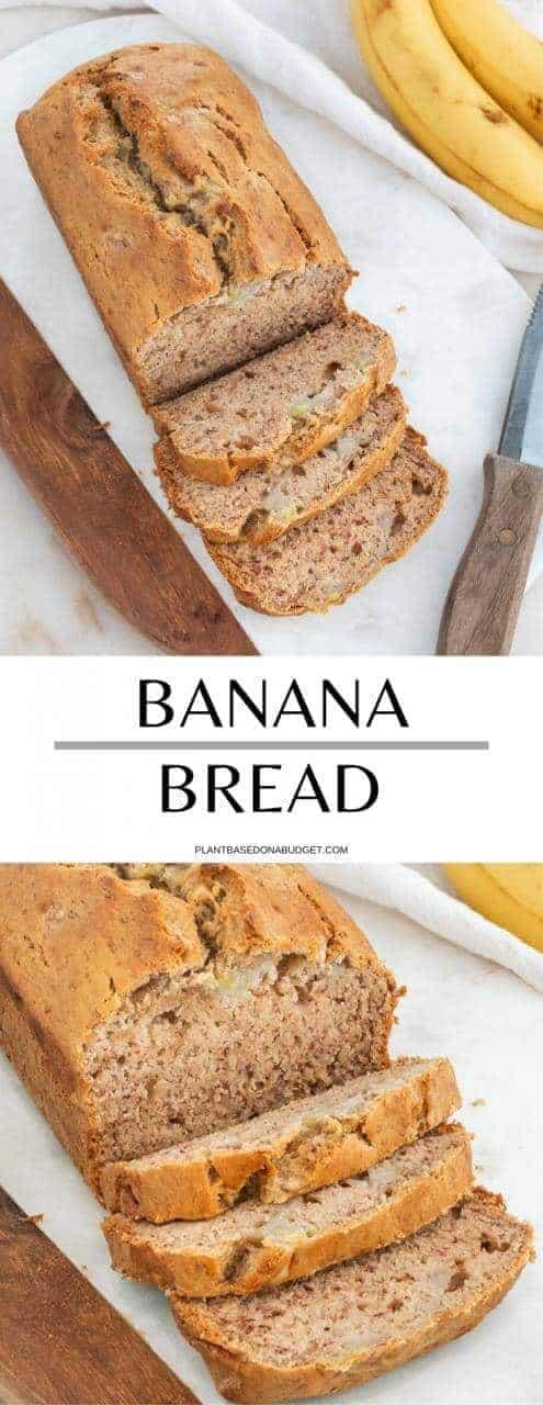 Aaron's Grandma's Vegan Banana Bread | Plant-Based on a Budget |
