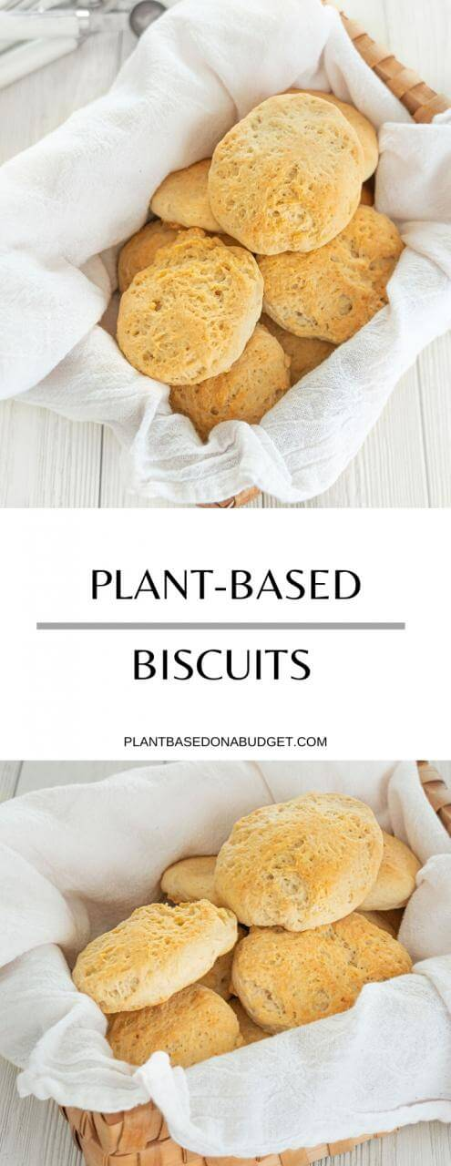 Plant-Based Biscuits | Plant-based on a Budget | #biscuits #vegan #comfort #american #recipe #plantbasedonabudget