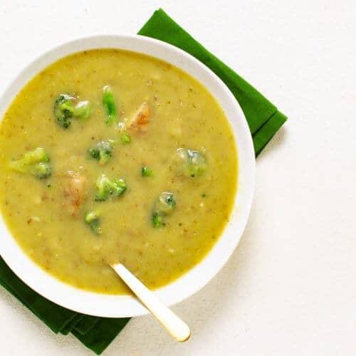 Broccoli Potato Soup Recipe 2 1