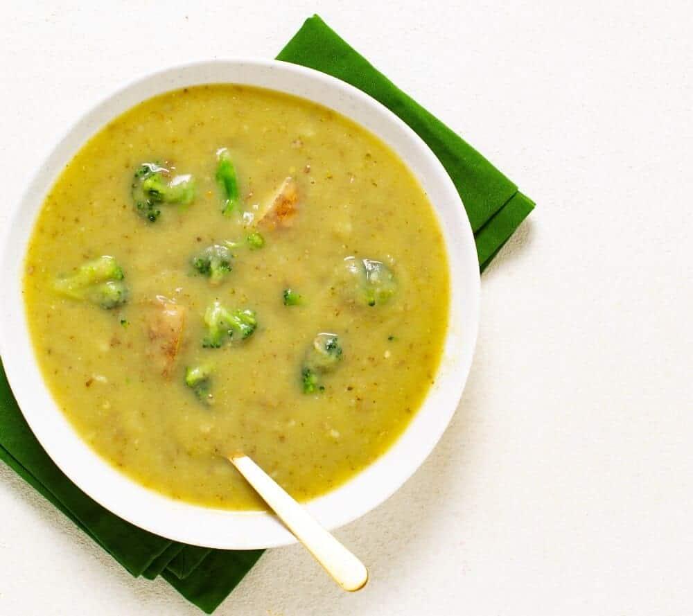Broccoli Potato Soup Recipe 2