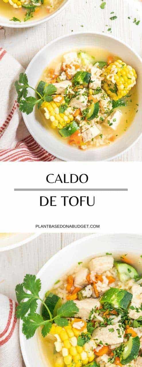 Caldo de Tofu Recipe | Plant-based Mexican Soup | Plant-based On a Budget | #soup #mexican #vegan #plantbased #caldo #family #plantbasedonabudget