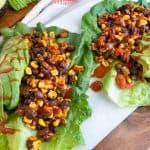 Fresh Southwestern Lettuce Wraps 3 scaled 1