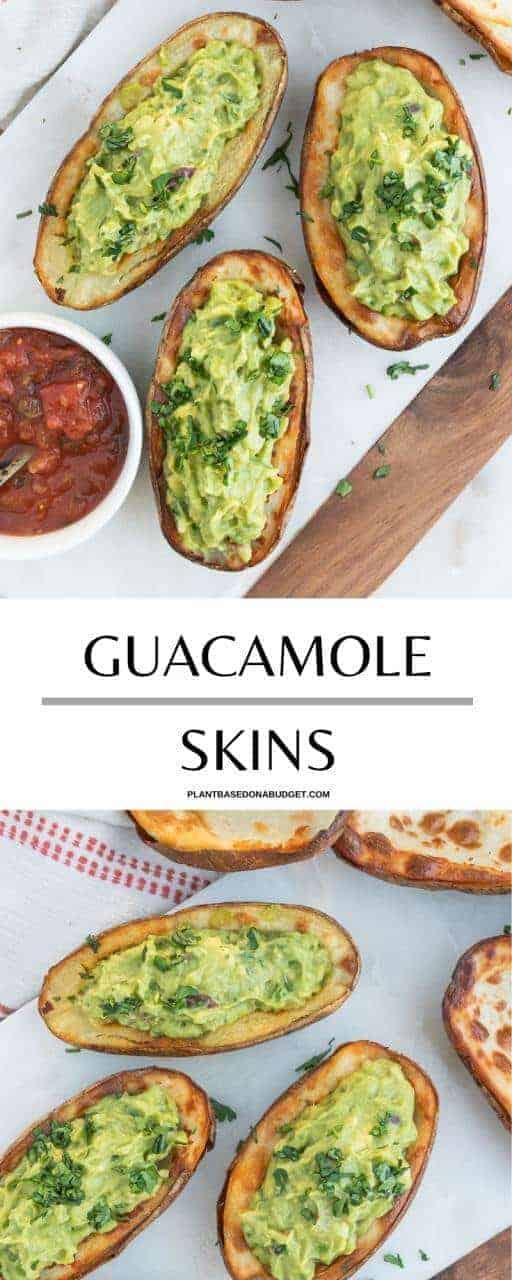Guacamole Skins Pinterest Graphic