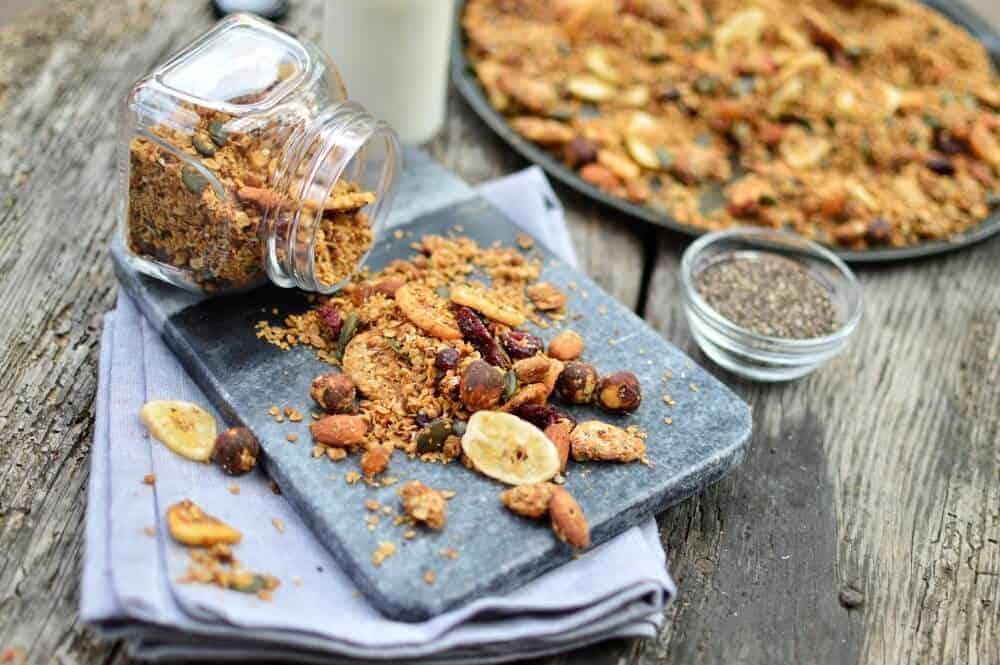 Homemade Nutty Granola 2