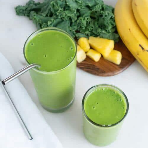 Kale Pineapple Smoothie 3 1