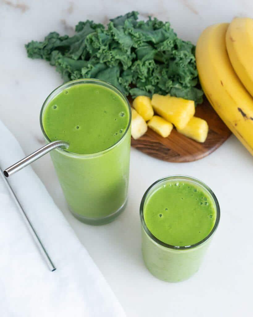 Kale Pineapple Smoothie 3