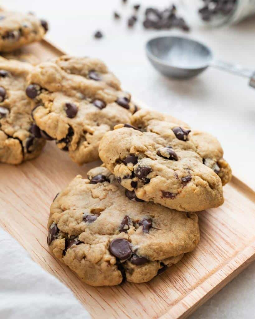 Keebler style Chocolate Chip Cookies Plant Based on a Budget 4 scaled 1