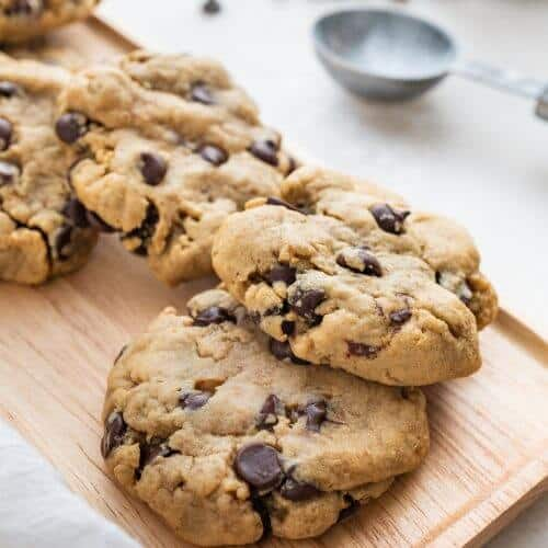 Keebler style Chocolate Chip Cookies Plant Based on a Budget 4 scaled 4