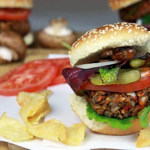 Lentil Burger1 1 scaled