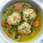 Matzoh Ball Soup Plant Based on a Budget 4