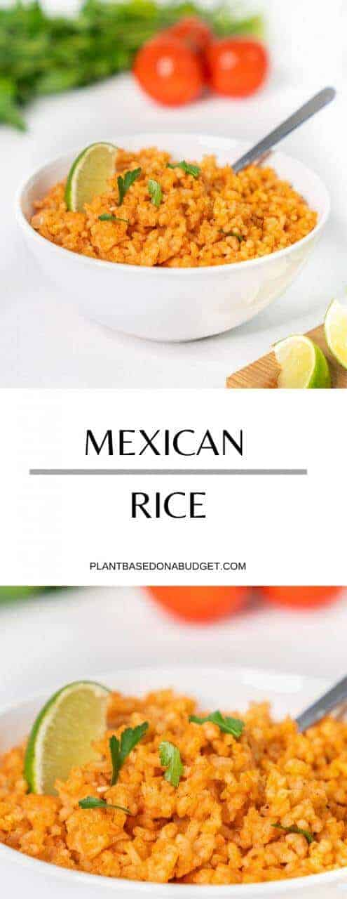 The Best Mexican Rice   Easy and Quick Recipe   Plant-Based on a Budget   #rice #mexican #easy #vegan #recipe #plantbasedonabudget