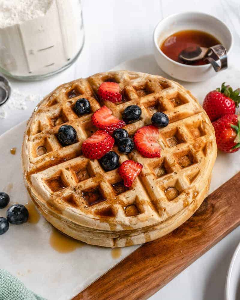 Neat Waffles Plant Based on a Budget 10