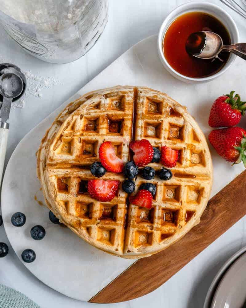 Neat Waffles Plant Based on a Budget 4
