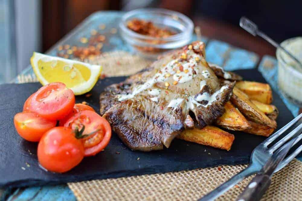 Oyster Mushroom Steak 3