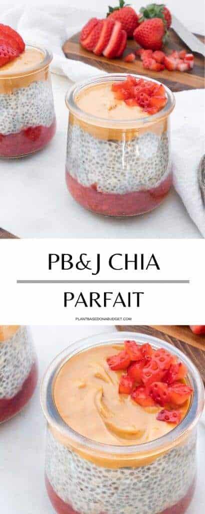 PB&J Chia Parfait