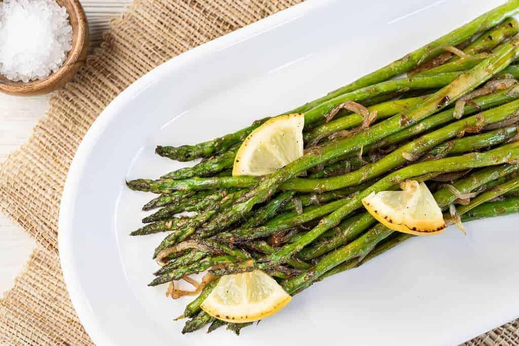 Pan Roasted Asparagus 2 1