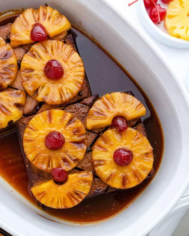 Pineapple Glazed Tofu Plant Based on a Budget 1