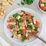 Pita Panzanella Salad 6 1 1 1