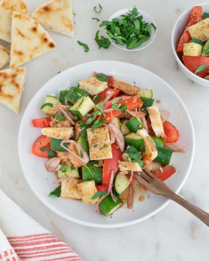 Pita Panzanella Salad 6 1 1