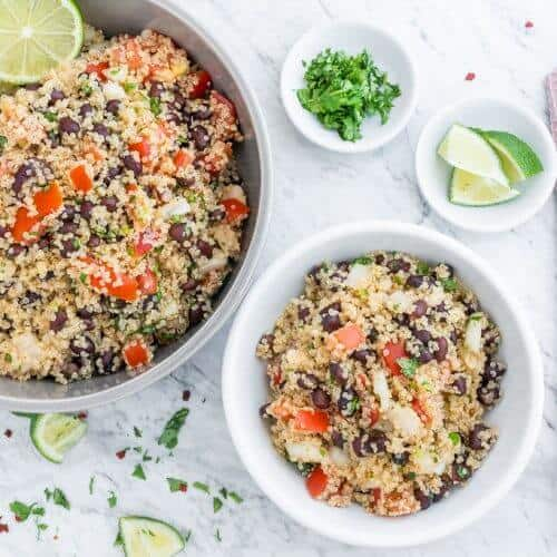 Quinoa Black Bean Salad Recipe 1
