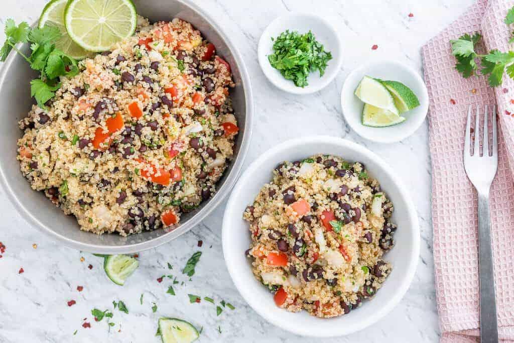 Quinoa Black Bean Salad Recipe
