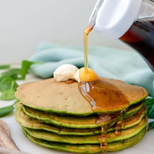 Spinach Pancakes 1