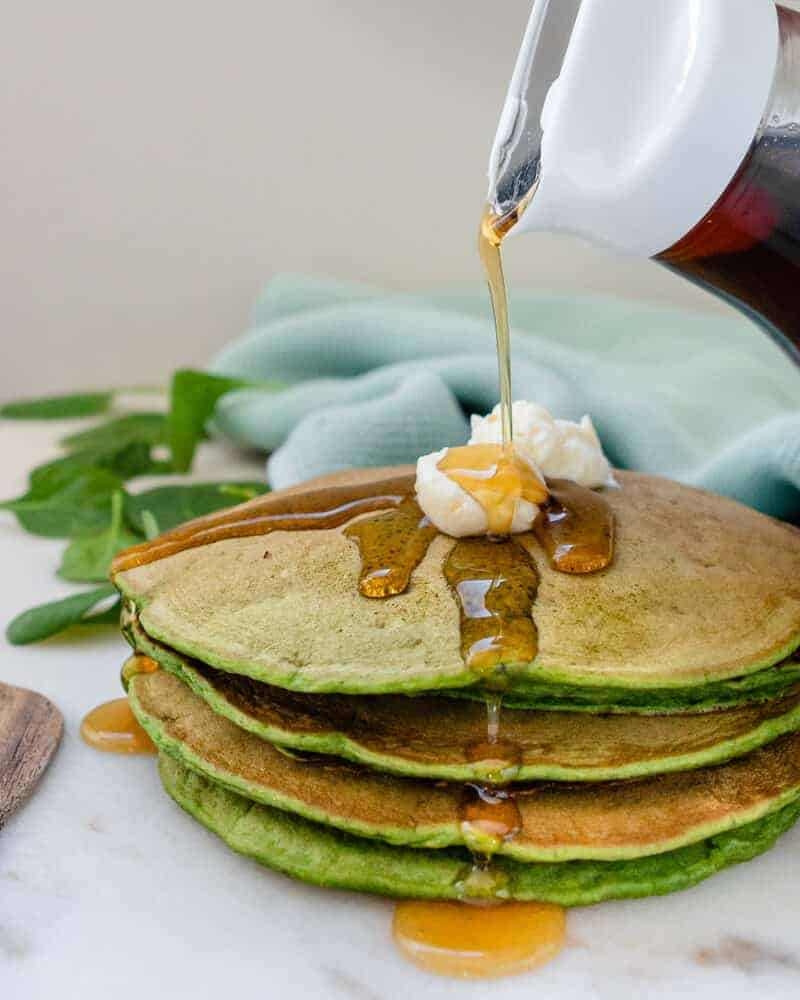 Spinach Pancakes 3