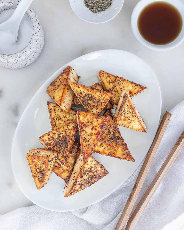 Sweet & Salty Tofu Bites