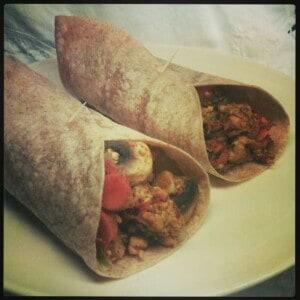 Toasted Tempeh Burritos 1