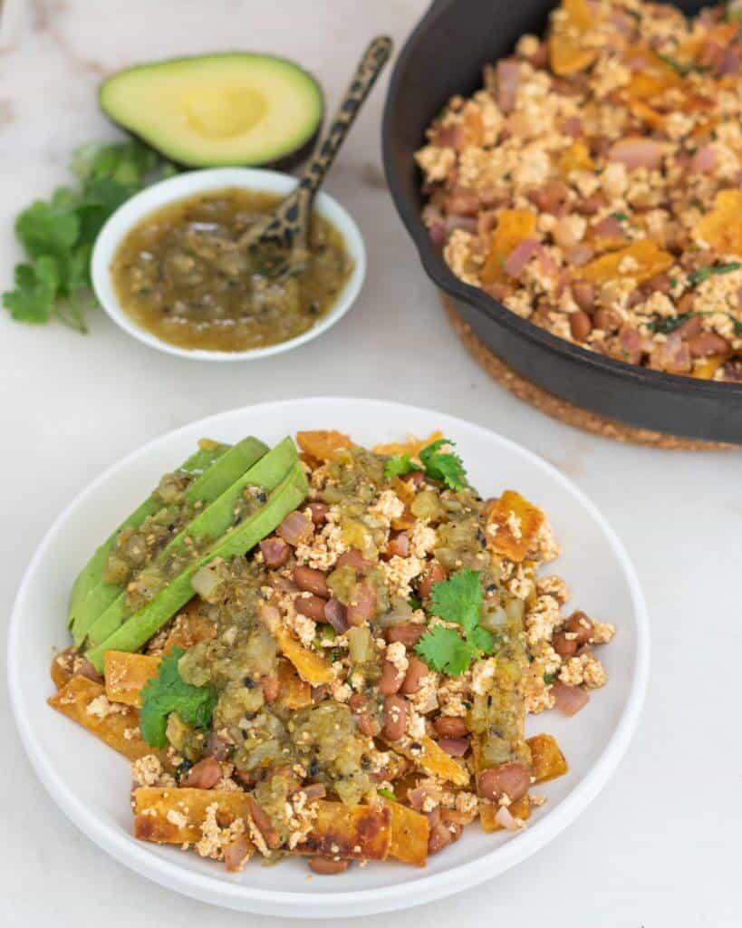 Tofu Chilaquiles 1