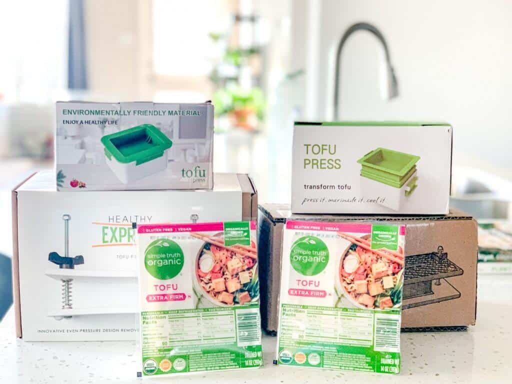 Tofu press Plant Based on a Budget 2