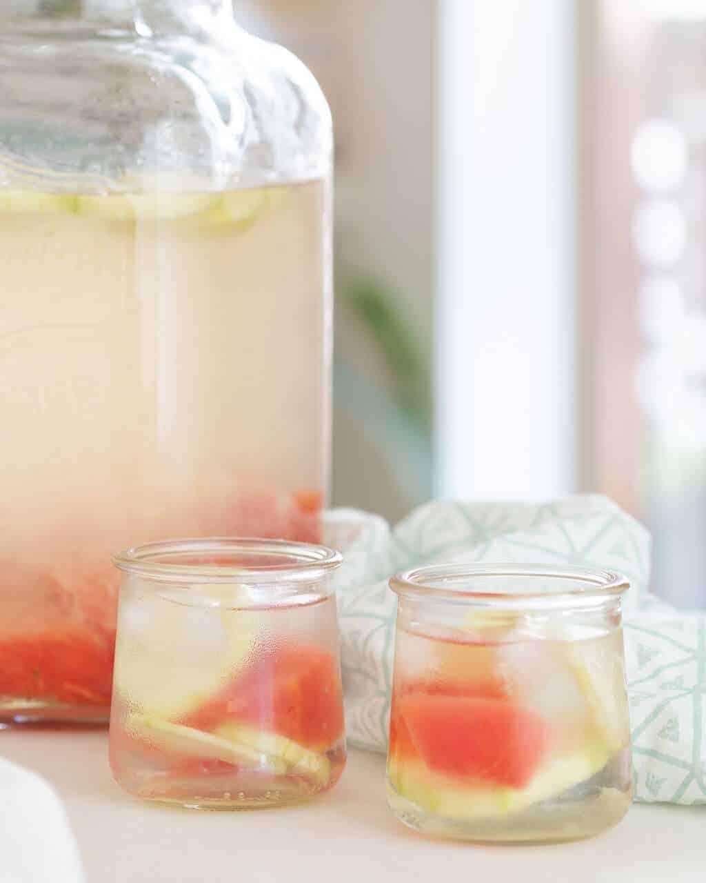 Cucumber Watermelon Lemonade