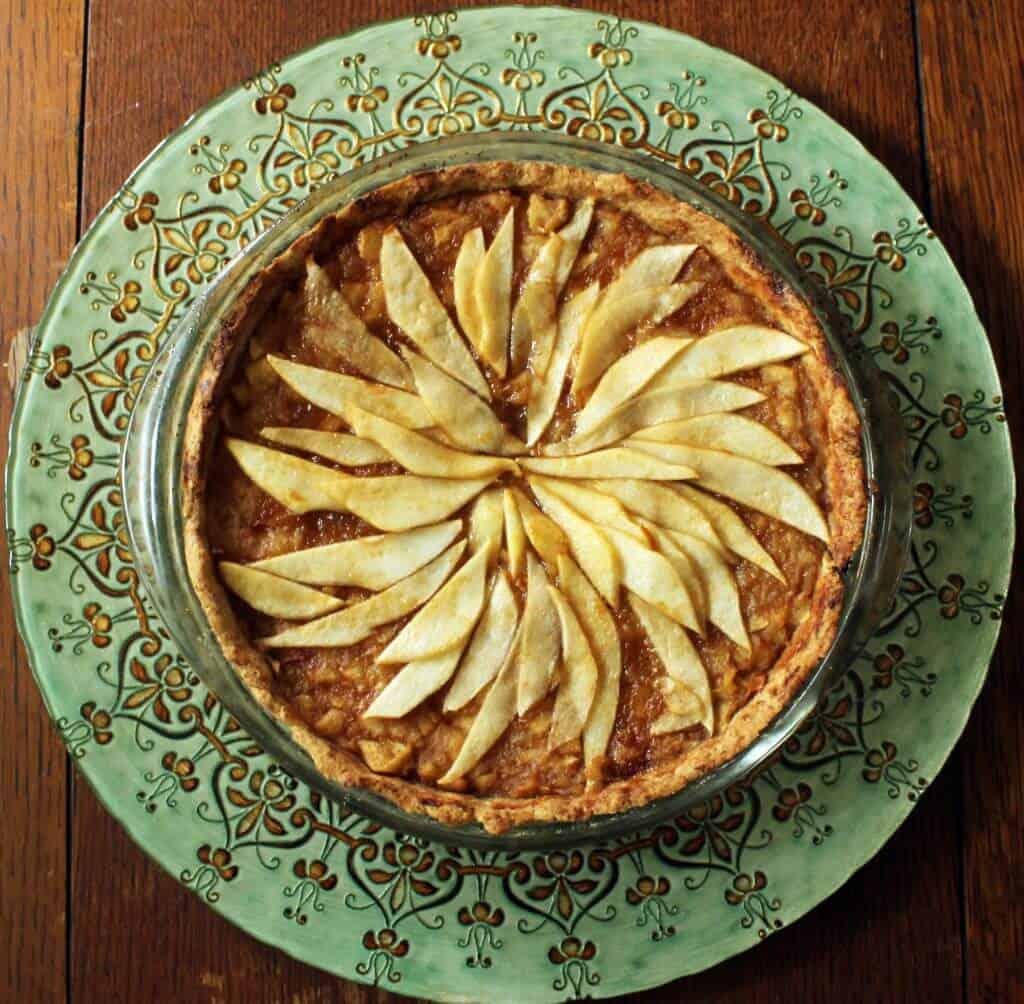 apple pear tart scaled
