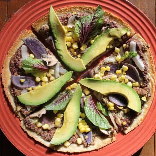 breakfast pesto avocado pizza 1 scaled