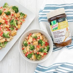 brown rice veggie stir fry recipe 1 1