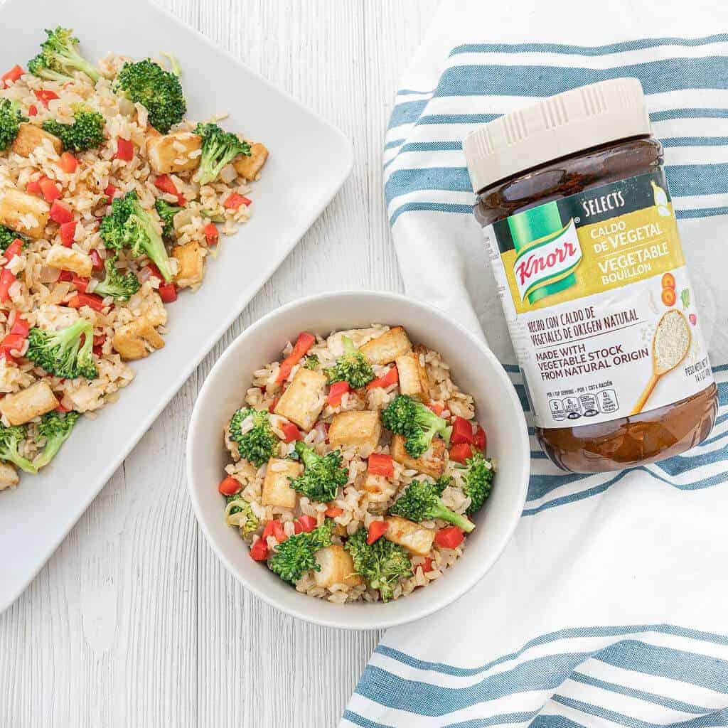 brown rice veggie stir fry recipe 1