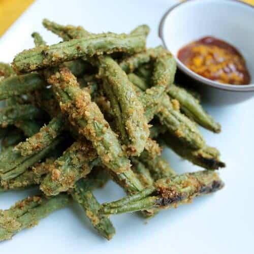 crispy flax green beans 1 scaled