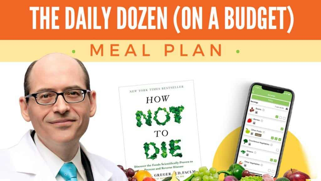 daily dozen meal plan dr greger