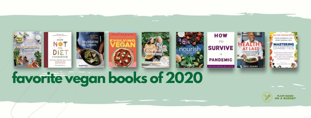 favorite vegan books 2020 FB Cover 2