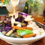 fresh summer roll bowl 1