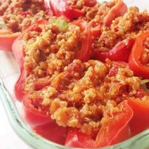 quinoa stuffed peppers 1
