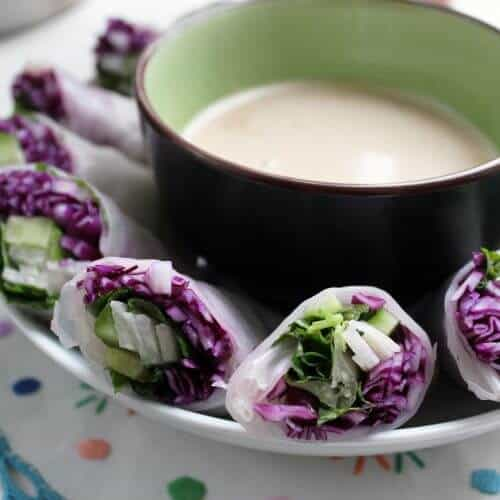 red cabbage and jicama spring rolls 2 scaled