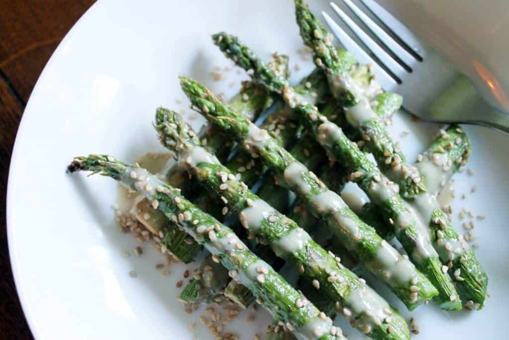sesame asparagus scaled