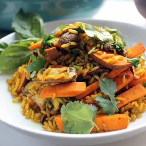 sweet potato and turmeric fried rice 1 scaled