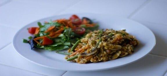 vegetable risotto 1