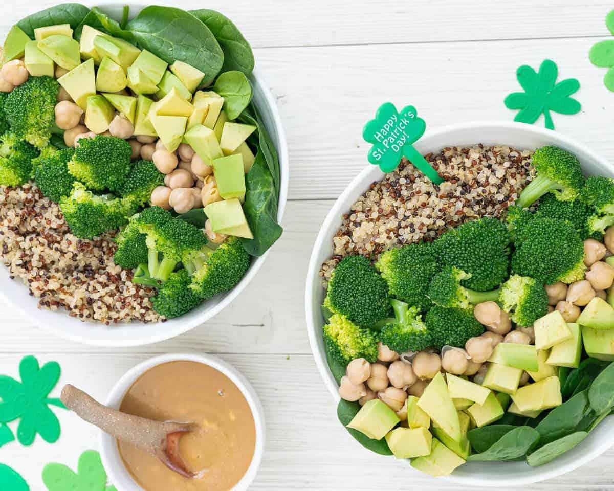 Super-Easy Green Buddha Bowl | Nutritious Lunch Idea | Plant-Based on a Budget | #buddha #bowl #healthy #lunch #vegan #green #plantbasedonabudget