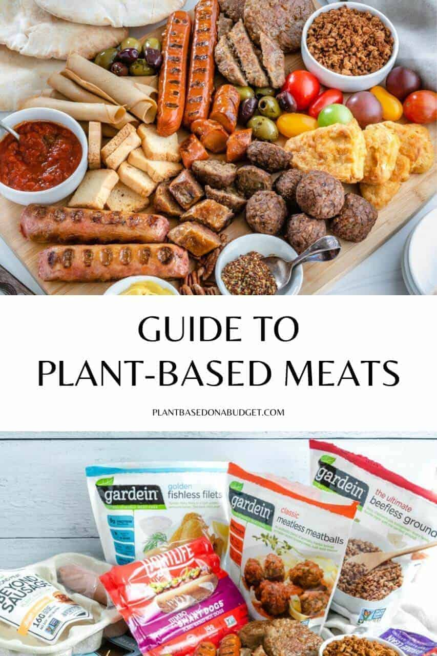 Guide to Vegan Meats Graphic
