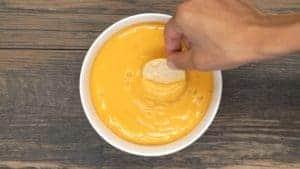 Vegan Nacho Cheese Sauce   Plant-Based on a Budget   #vegan #cheese #sauce #nacho #dip #plantbasedonabudget